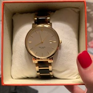 Perfect condition Kate Spade tortoise watch